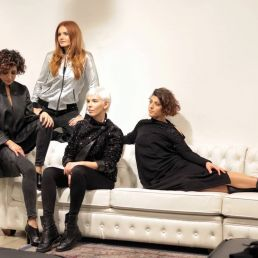 Francesca Vaccaro e le modelle